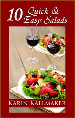 Cover, eStory 10 Quick and Easy Salads