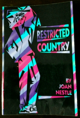 Cover of A Restricted County by Joan Nestle
